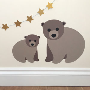 Bear Wall Sticker - wall stickers