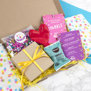 Personalised Birthday In A Box Gift Box - card alternatives