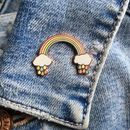 'Thinking Of You' Rainbow Pin Gift For Friend