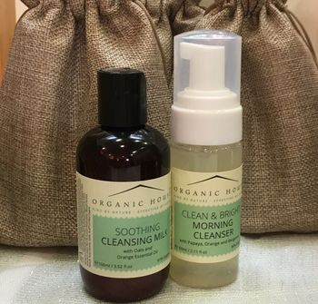 Natural, Organic Cleansers Gift Bag