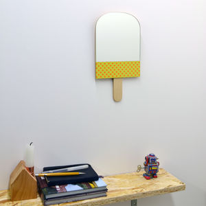 Personalised Classic Lollipop Lolly Mirror - children's mirrors