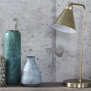 Brass Table Lamp - lighting