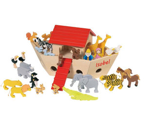 Personalised Wooden Noah's Ark With Two Size Options - toys & games