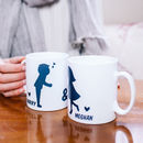 Personalised Kissing Couples Mug