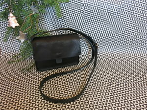 Leather Cross Body Bag - womens