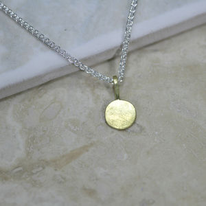 18ct Gold 'Sun' Necklace - necklaces & pendants