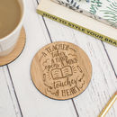 'A Teacher Takes A Hand' Coaster