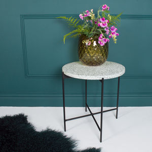 Terrazzo Side Table - side tables