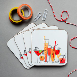 Cocktails Coaster - dining room