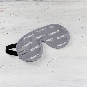 Men's Classic Car Print Sleep Mask - bedding & accessories