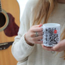 Motivational Printed Mug For Music Lovers