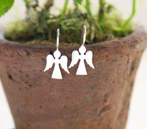 Angel Silver Earrings