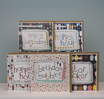 Pack Of General Birthday Cards