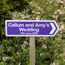 Personalised Wedding Sign