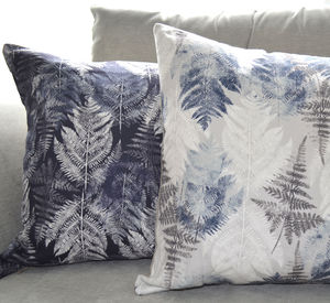 Fern Linen Cushion Cover - cushions