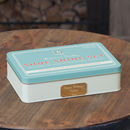 Personalised Gentlemen's Shoe Shine Storage Tin