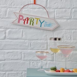 Party Sign - summer sale