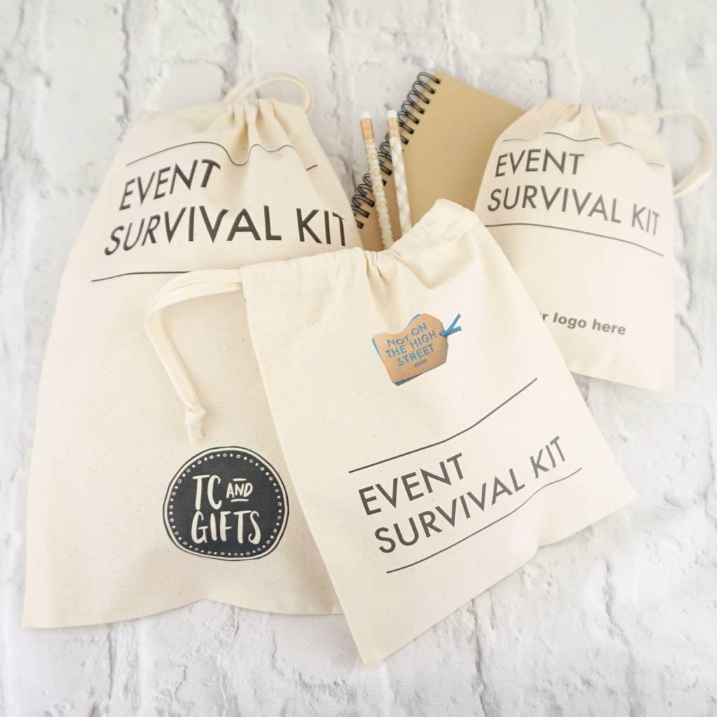 Corporate Event Survival Bag X 25