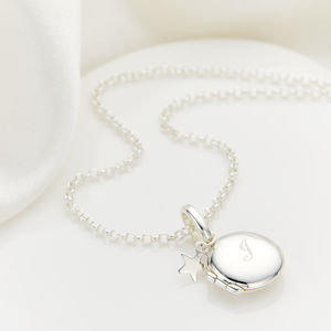 Personalised My First Locket Small - christening jewellery