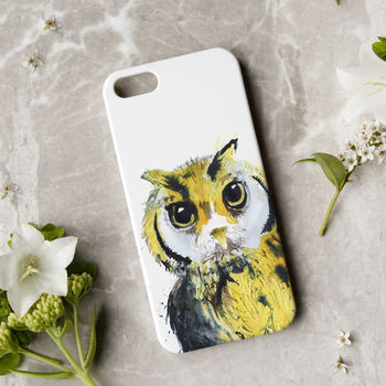 Inky Owl Phone Case
