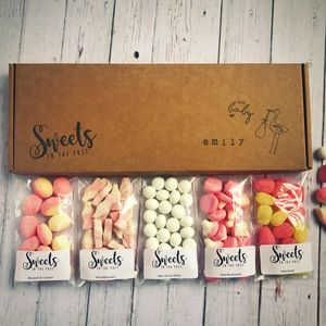 New Baby Letterbox Sweets Gift Box