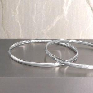Silver Bangle - jewellery sale