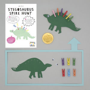 Make Your Own Stegosaurus Kit - party bags and ideas