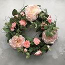 Wild Rose Floral Wreath