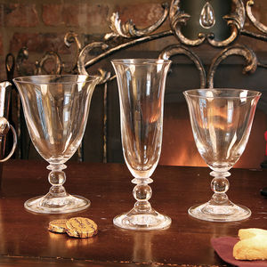 Luxury Fluted Short Stemmed Glasses - drink & barware