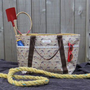 Oyster Catcher Beach Bag