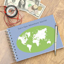 World Map Travel Journal