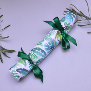 Handmade Party Crackers Box Of Six Jungle Print