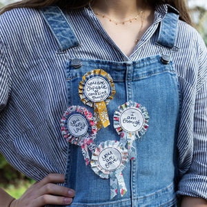 Affirming 'Just Be You' Rosettes