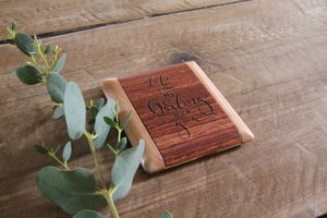 Wooden Compact Mirror