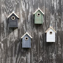 Wooden Bird Boxes