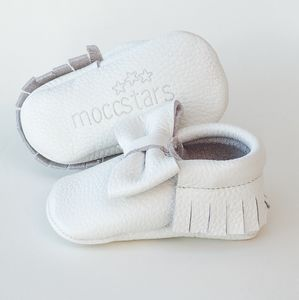 'Snow White' Baby And Toddler Bow Moccasins - shoes & footwear