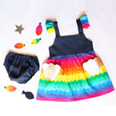 Mermaid Girls Dress Set