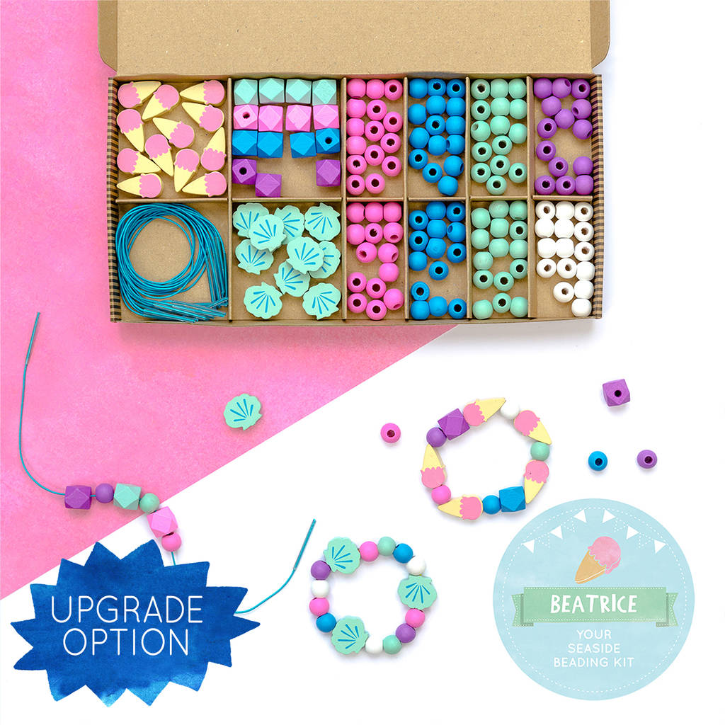 Make Your Own Mermaid Bracelet Kit By Cotton Twist