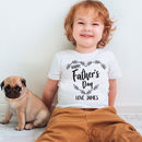 Personalised Father's Day T Shirt
