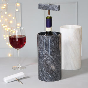 Hand Crafted Marble Cooler For Wine And Champagne - marble gifts