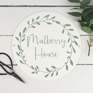 Personalised House Name - home accessories