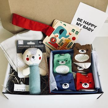 New Baby Animal Themed Gift Box