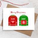 Personalised Christmas Jumper Card