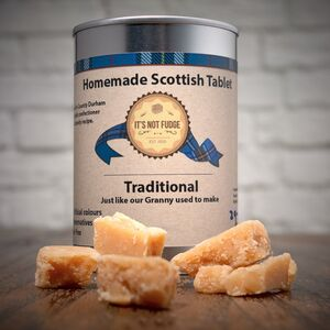 Tinned Traditional Scottish Tablet