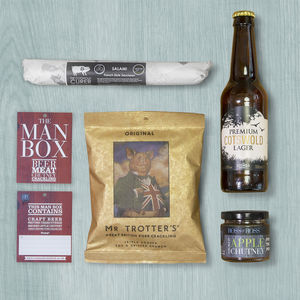 The Man Box Beer - food gifts