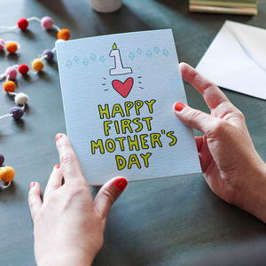 Happy First Mother's Day Card
