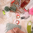 Digital Macrame Masterclass Workshop And Craft Kit