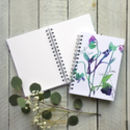 Sweet Peas Spiral Bound Journal/Sketch Book