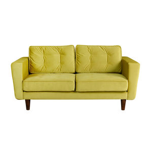 New York Velvet Two Seater Sofa