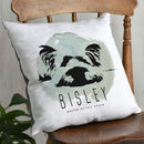 Personalised Pet Silhouette Cushion